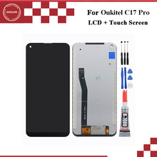 """ocolor For Oukitel C17 Pro LCD Display And Touch Screen Digitizer Assembly 6.35"""" For Oukitel C17 Pro LCD Screen With Tools+Glue"""