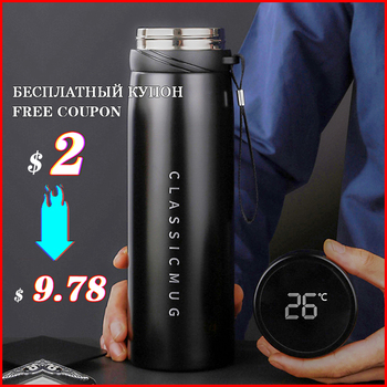 600/800/1100ml Stainless Steel Vacuum Water Bottle Thermos Bottle Portable Vacuum Flask For Tea Coffee Mug Travel Cup 450ml hot water thermos tea vacuum flask with filter stainless steel 304 sport thermal cup coffee mug tea bottle for winter