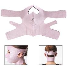 HOT 3D V Face Slimming Mask Massage Relaxtion Facial Slim Up Belt Lifting Chin Thin Cheek Bandage
