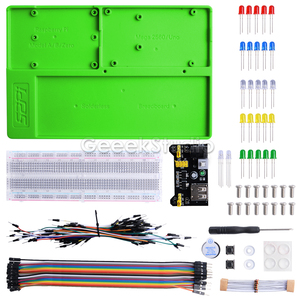ABS Experiment Holder Kit Platform Development Breadboard for Raspberry Pi 4B / 3B+ / 3B / 2B / B+,Zero/W, Mega 2560