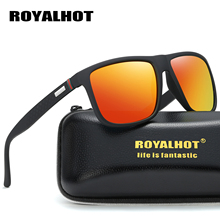 RoyalHot Men Women Retro Polarized Elastic Square Frame Sunglasses  Driving Sun Glasses Shades Oculos masculino Male 900124