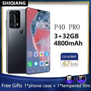 Смартфон SOYES P40 Pro, 6,7 дюйма, Android, 3 + 32 ГБ, 4800 мАч