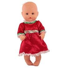 Новое красное платье кукольная одежда подходит для кукол Nenuco su Hermanita 35 см аксессуары для кукол
