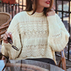 Simplee Lace embroidery pullover sweater women Autumn winter korean female sweaters Casual streetwear ladies jumper sweater pull