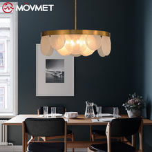 Gold Pendant Light Industrial Pendant light Retro Hanging Lights Vintage Pendant Lamp American Loft Pendant Home Lighting Fixtur