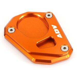 Image 5 - Misura per KTM 390 ADV Adventure 2020 2021 cavalletto cavalletto laterale ingranditore estensione ingranditore Pate Pad