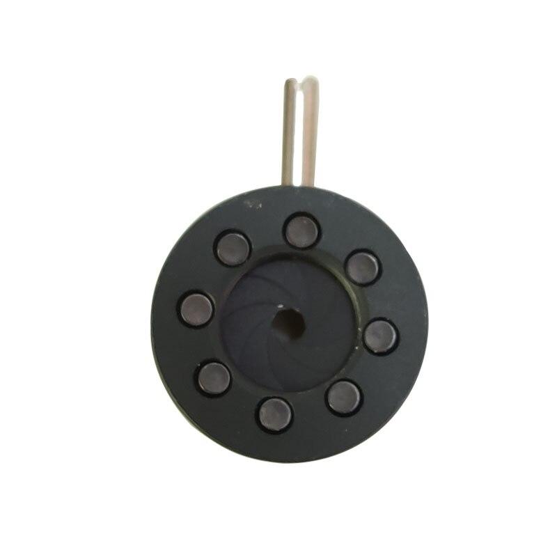 0.3-6mm מצלמה עדשת מתאם מתכוונן איריס סרעפת צמצם 8 להבים
