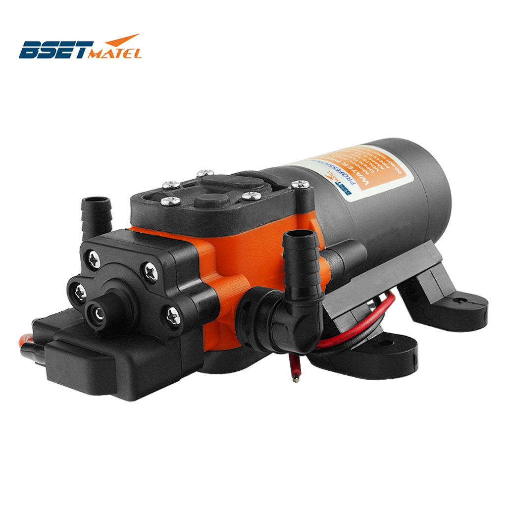 35PSI 12V Marine Water Pump Diaphragm Self Priming Pump Boat Accessories Showers Toilets Water Transfer Motor For RV Caravan