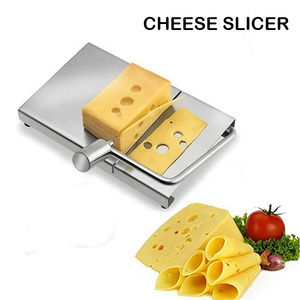 SHAI Kitchen Accessories Stainless Steel Cheese Slicer cheese spreader Included 5-Pack Replacement Stainless Steel Cutting Wire