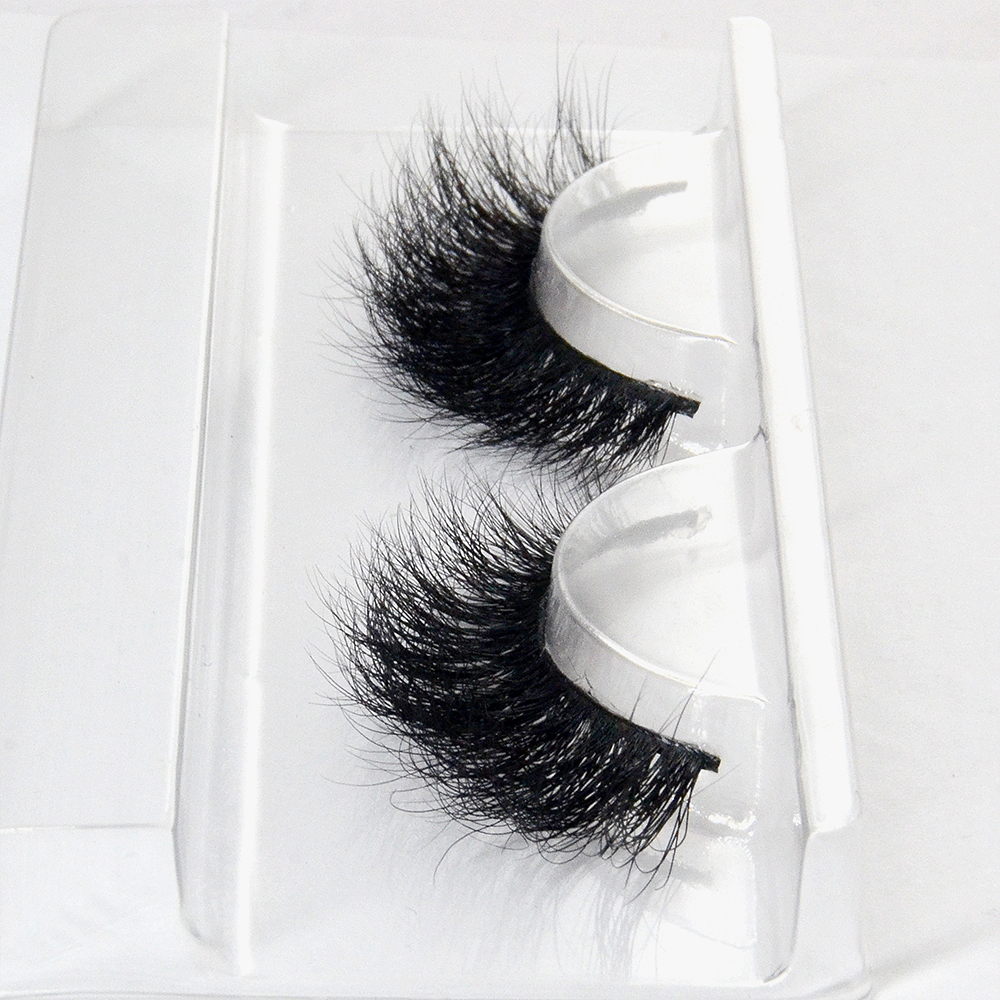 3d Dramatic Volumn Mink Eyelashes In Bulk 3d Wispy Mink Hair Lashes With Eyelash Packaging Box