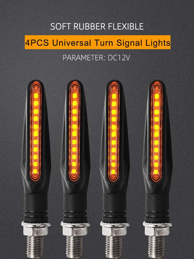 Lights Flasher Indicator Drag LED Amber Motorcycle-Turn-Signal Universal R6 YAMAHA Tmax 530