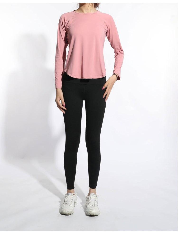 Das Mulheres T-Camisa de Manga Longa Mulher