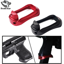 цена на Tactical Glock Grip Adater Magwell Glock Magwell for Glock 22 17 24 31 34 35 37 Gen 1-4 Base Pad Tactical Hunting Caza