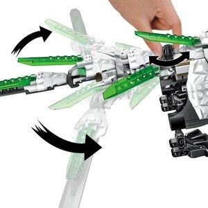 Image 5 - 1100 adet Ninja mirage ultimate dragon karmaşık uyumlu lepining ninjagoes yapı taşları tuğla oyuncaklar aksiyon figürleri oyuncaklar hediyeler