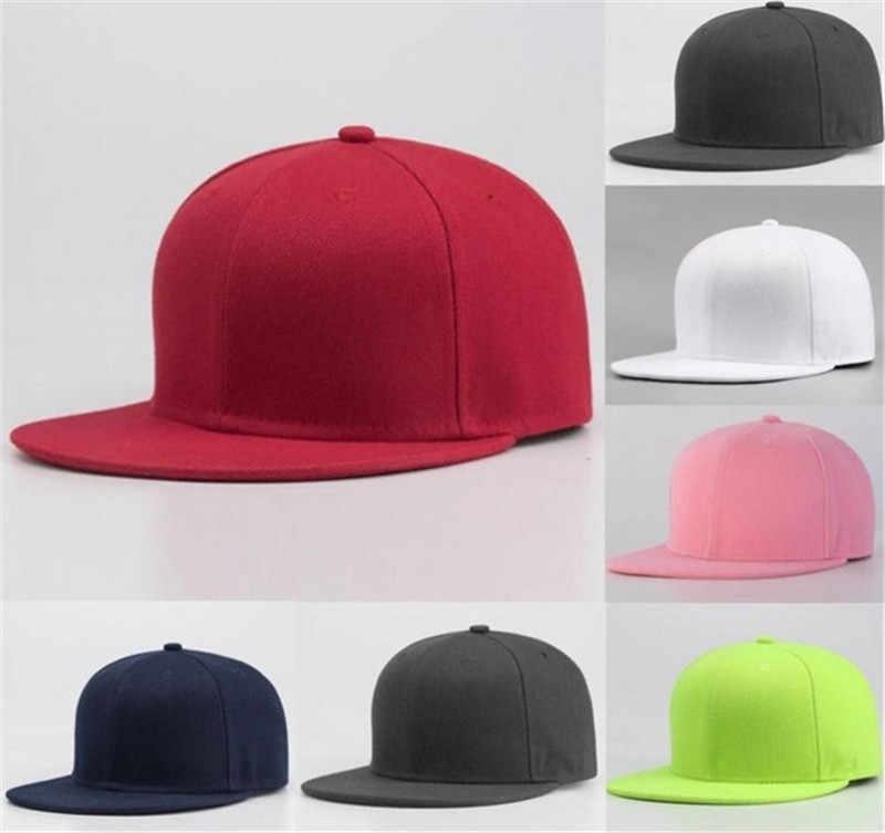 Moda sportowa czapka baseballowa puste zwykły stałe Snapback piłka golfowa kapelusz hip-hop mężczyźni kobiety czapka Sport Unisex dla dorosłych Cap