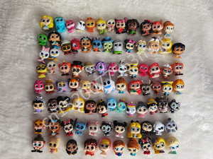 1pcs can choose Disney Doorables Princess Dolls Series 1 & 2 Cartoon Monsters Toy MINI SIZE Rare Collection No Dups Gift Kids