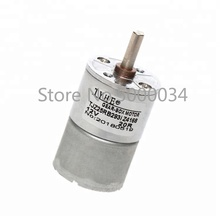 цена на Commodity Stocks 12v 24v 25mm low rpm dc electric motor with gear for rc cars
