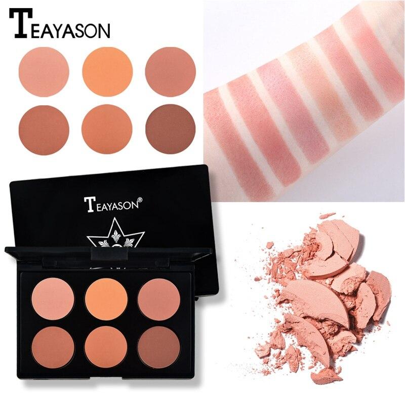 Teayason 6 Blush colors Miss Rose