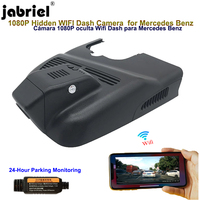 Jabriel for Mercedes Benz gla cla a 220 220d 250 45 AMG w156 w117 w118 w176 w177 2014 2020 Hidden Wifi 1080P Dash cam car camera