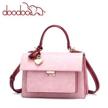 2020 DOODOO New Spring And Sunmer Korean Fashion Organ Handbag Wild One-shoulder Oblique Cross Women Bag