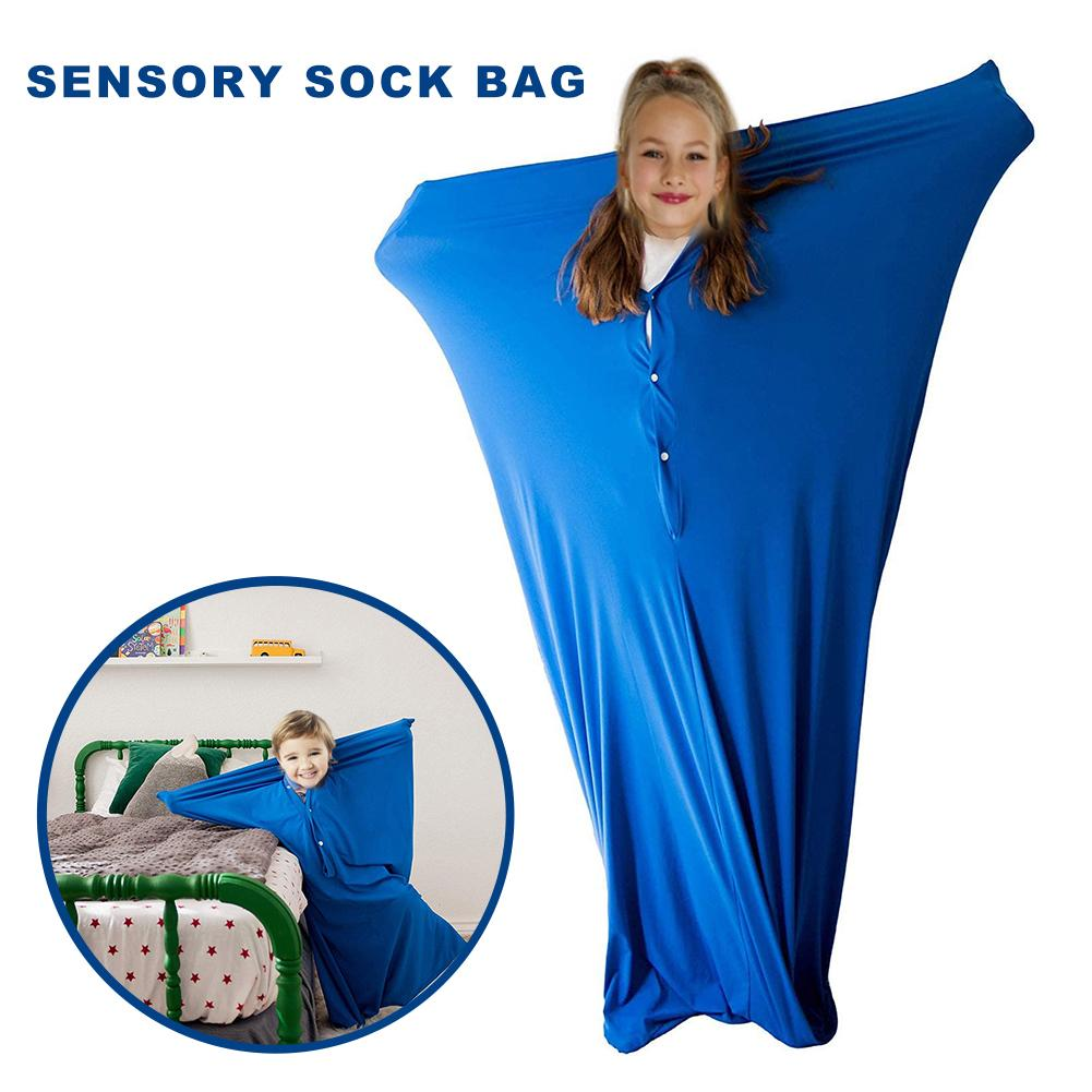 Crazy Kids Body Sock Sensory Toys For Special Needs ADHD Autism Anti Stress Funny Prank Stuff For Boys Girls #