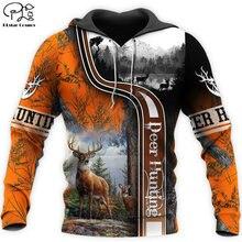 Plstar cosmos 3dprint охотник камуфляж олень moose унисекс harajuku