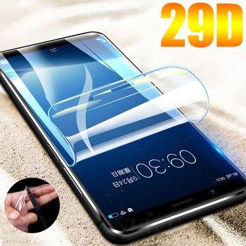 Перейти на Алиэкспресс и купить 29D защита экрана Гидрогелевая пленка для Meizu M5 M5S Note M5 Note M6 M6s Защитная пленка для Meizu 15 16X Plus E3 пленка не стекло