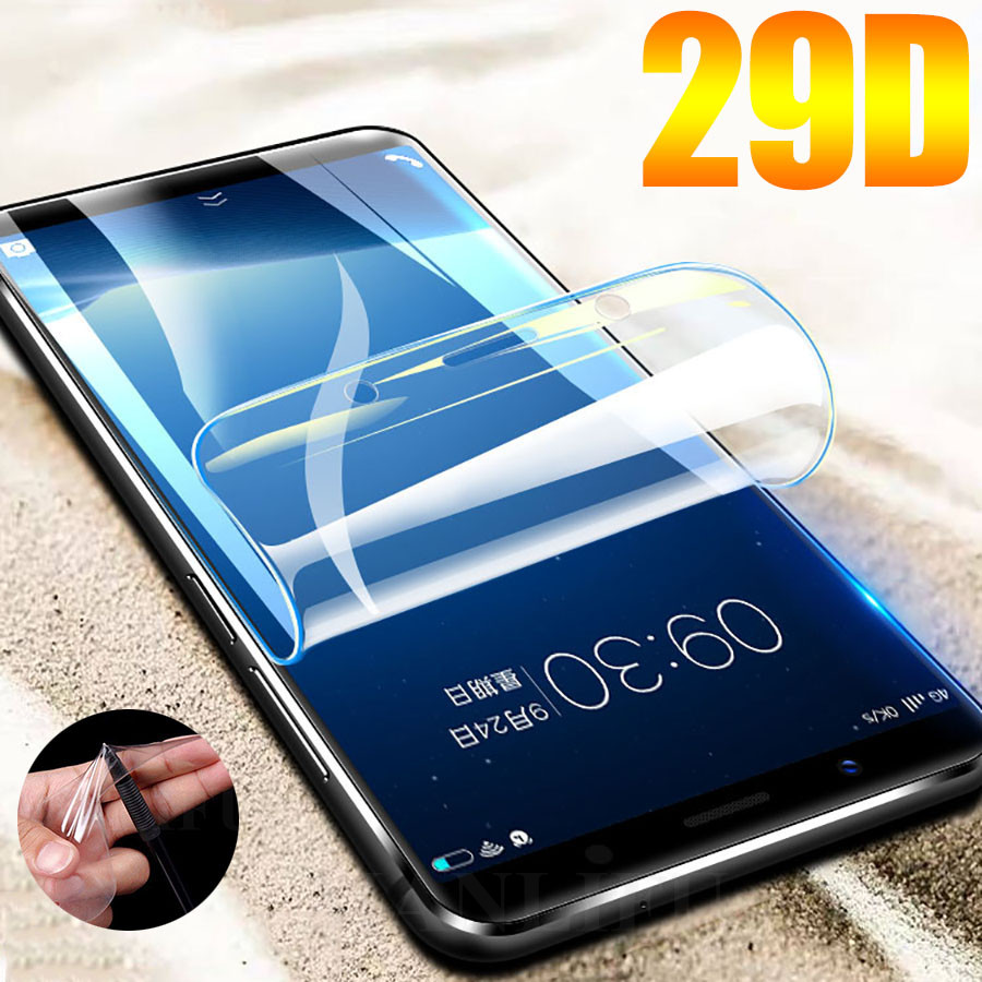 29D Screen Protector Hydrogel Film For Meizu M5 M5S Note M5 Note M6 M6s Protective Film For Meizu 15 16X Plus E3 Film Not Glass