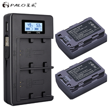 PALO 2Pcs 2280mAh NP FZ100 NP-FZ100 NPFZ100 Battery + LCD Dual USB Charger for Sony a9 BC-QZ1 a7R III a7 ILCE-9