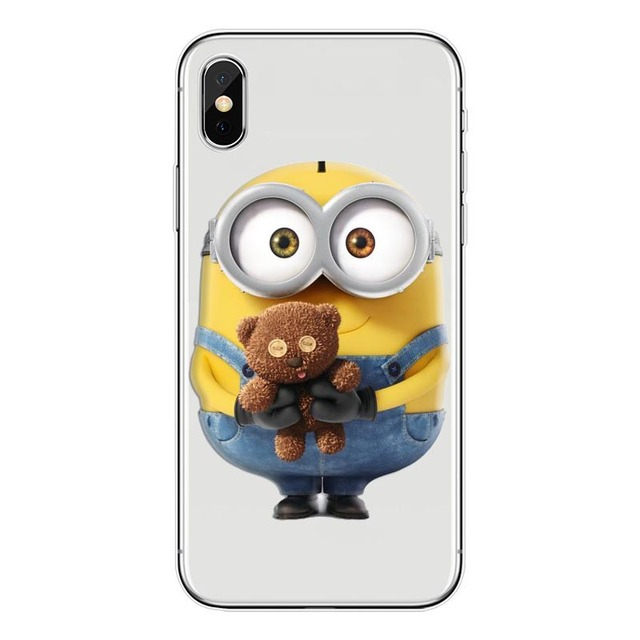 For iphone 7 6 6s 8 plus case Despicable Me Minions Case Cover For ...