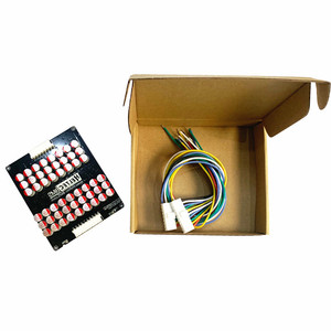 Image 4 - 13s 16s 17s 5A 6AアクティブイコライザーバランサLifepo4リチウムリポlto電池エネルギーアクティブ等化モジュールフィットコンデンサ