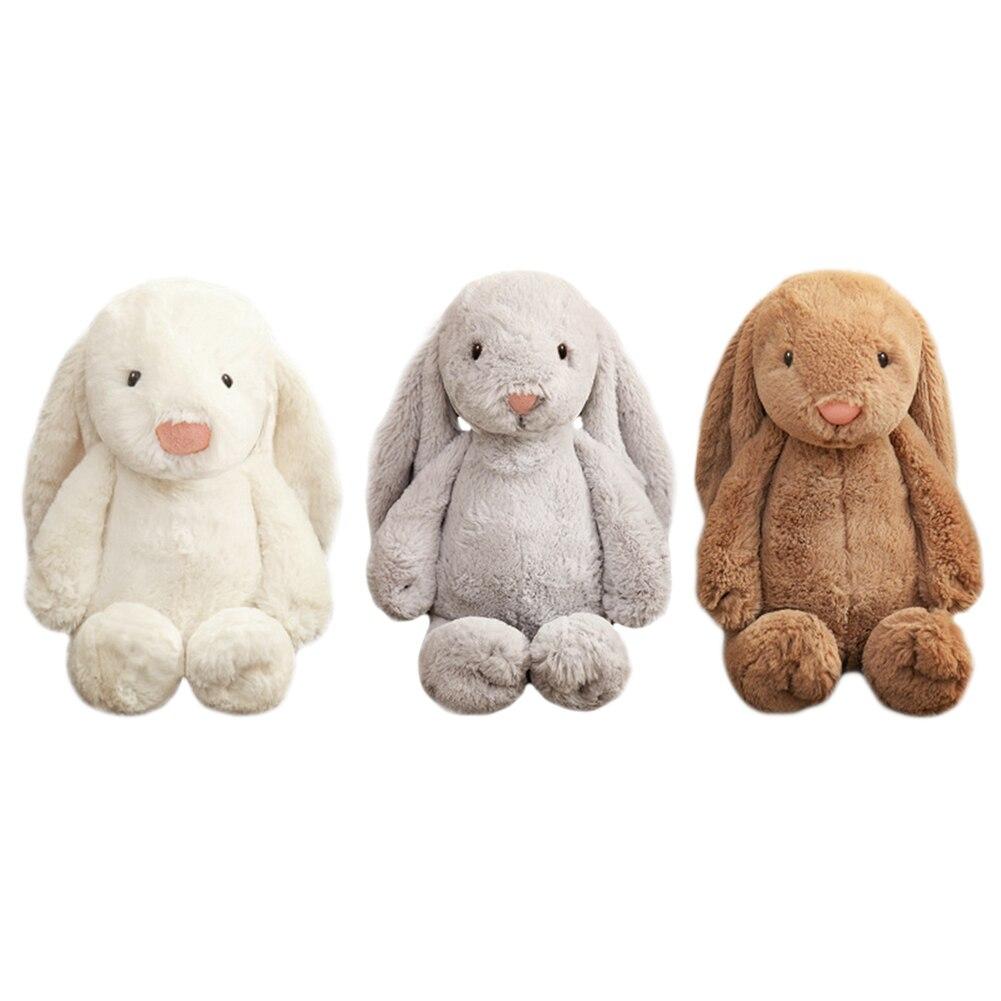 30cm uzun kulak Bonbon tavşan peluş bebek Placating oyuncak bebek uyku dolması Doll çocuklar kızlar için doğum günü hediyeleri