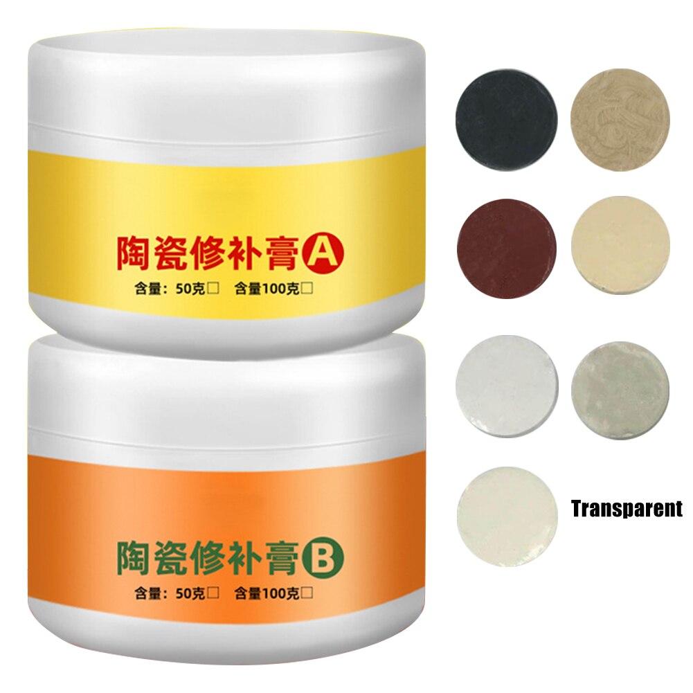 Shower Repair Kit | Tile Repair Agent Paste Tub Repair Kit White Tile Shower Repair Kit For Fiberglass Porcelain Ceramic Fix Crack TB Sale