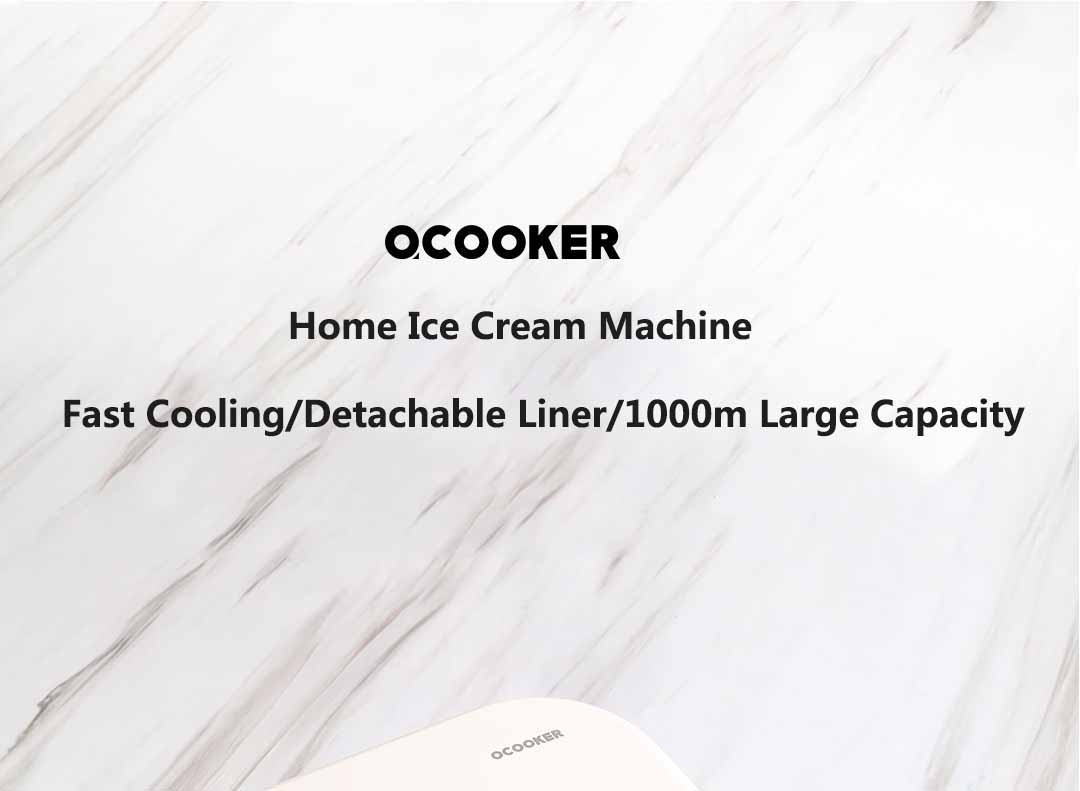 sorvete fabricante 1000ml grande capacidade