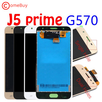 For 5.0 SAMSUNG GALAXY J5 Prime LCD Display Touch Screen For SAMSUNG J5 Prime LCD On5 2016 G570F/DS G570M Screen Replacement for samsung galaxy j5 lcd for samsung j5 j500 j500f j500fn j500y j500m adjustable lightness lcd display touch screen digitizer