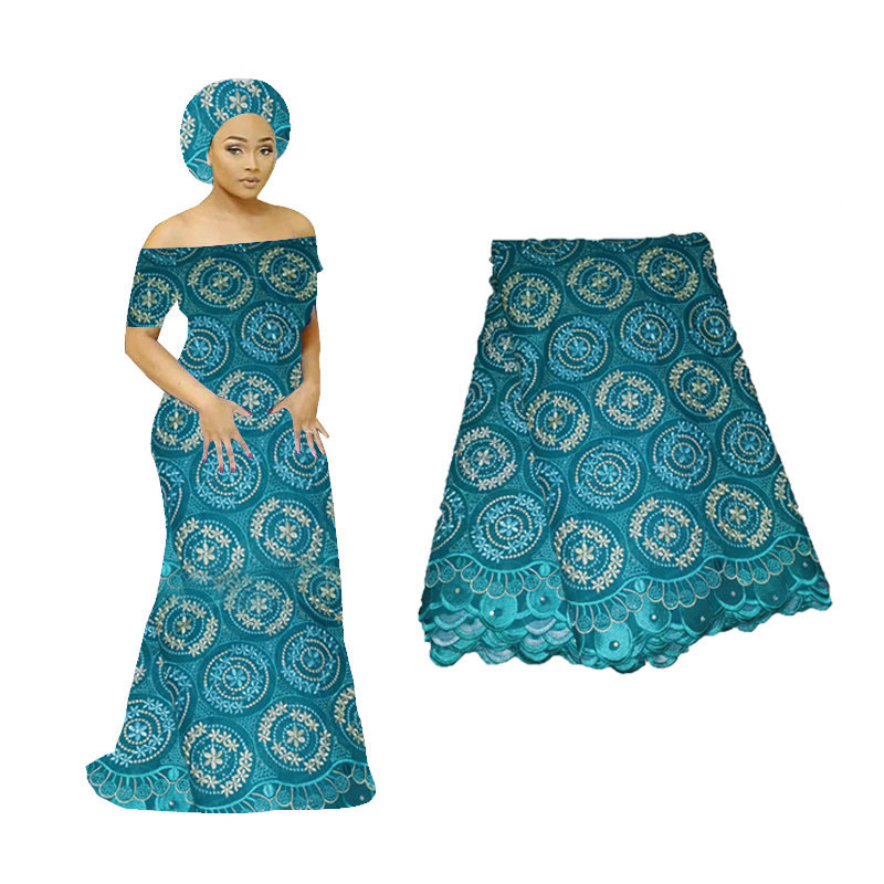 2019 Luxury Pure White African Lace Fabric Royal Blue High Quality Nigerian France Mesh Lace Fabric With Stones For Bridal