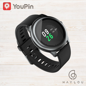 YouPin Solar LS05 inteligentny zegarek zdrowie nadgarstek sportowy zegarek nocny Monitor pracy serca IP68 wodoodporna inteligentna bransoletka iOS Android