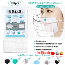 Fast shipping 100-500pcs Disposable Mask Filter Pad ffp2 ffp3 Respirator mask Smog Prevention 3 Layers Face Mouth Masks Pad 50pcs mask replaceable filter pad disposable antivirus covid 19 smog prevention hot