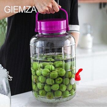 Vaso Mezclador de vino espumoso GIEMZA, vaso de vidrio, grifo botella, subpaquete, vaso de zumo fresco, herramienta para Bar de fiesta, cubo de hielo