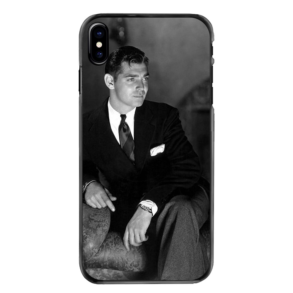 Clark Gable What a hamdsome man For Huawei P8 P9 P10 Lite Plus 2017 2016 Honor 5C 6 4X 5X Mate 8 7 9 Accessories Hard Phone Case image