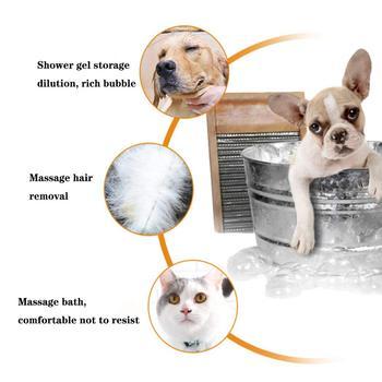 Pet bath brush Multifunction Cat Dog brush Shampoo Massage Brush  6