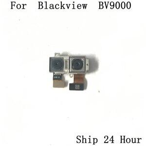 Image 1 - Blackview BV9000 cámara trasera usada cámara trasera 13.0MP + 5.0MP módulo para Blackview BV9000 Reparación de repuesto de pieza de fijación