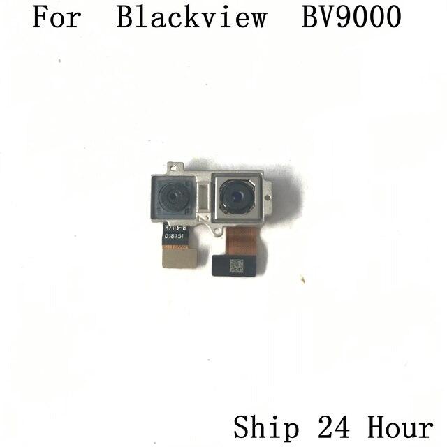 Blackview BV9000 cámara trasera usada cámara trasera 13.0MP + 5.0MP módulo para Blackview BV9000 Reparación de repuesto de pieza de fijación