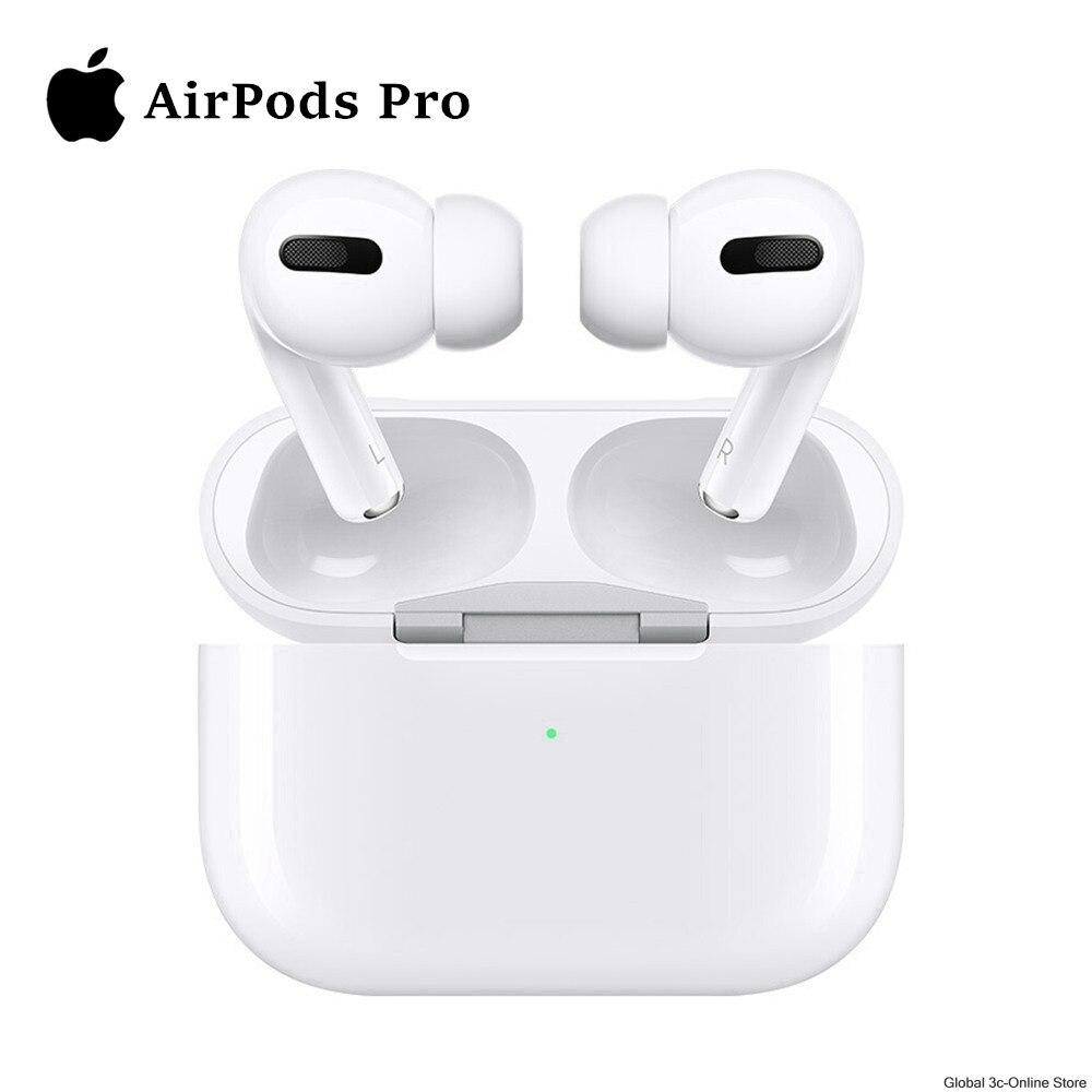 Original Apple Airpods Pro Wireless Bluetooth Kopfhörer Luft Schoten Pro Aktive Geräuschunterdrückung mit Lade Fall Schnell Lade