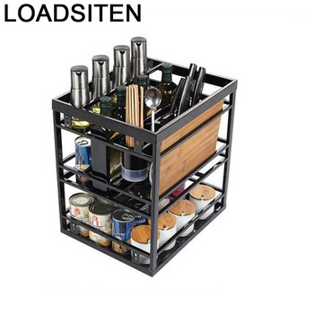 Para Cosina spiżarnia Cucina Rangement Armario De Cocina Despensa Organizer szafka kuchenna ze stali nierdzewnej szafka kuchenna tanie i dobre opinie LOADSITEN CN (pochodzenie) Metal