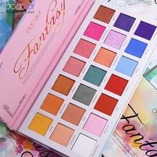 مجموعة ألوان ظل العيون الاحترافية 21 لون لوحة ساحرة ماتي لامع مصطبغة العين مسحوق مخروط الظل يشكلون لوحة مجموعة