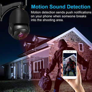 Image 5 - Cámara de seguridad inalámbrica con Wifi para exteriores, dispositivo de vigilancia ONVIF con Zoom óptico de 1080 MP, 3MP, HD 30X, IP para el hogar, visión nocturna IR de 80M
