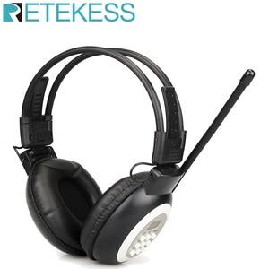 Image 1 - Retekess TR101 Walkman kulaklık radyo FM Stereo kulaklık radyo alıcısı dijital FM işitme koruyucu kulaklık desteği AUX girişi