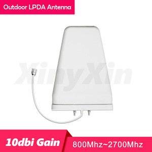 Image 4 - 900 1800 2100 Cellular Signal Amplifier GSM LTE DCS WCDMA 2G 3G 4G Repeater Tri band Mobile Phone Signal Booster Antenna Set