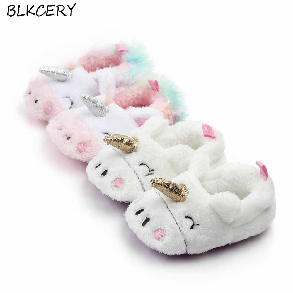 Old Soft Sole Crib Toddler Boy Slippers